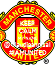 KEEP CALM MY NAME @Claudiaannisa1 #IAMUNITED - Personalised Poster large