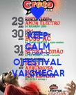 KEEP CALM  O CARA***O O FESTIVAL  VAI CHEGAR - Personalised Poster large