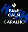 KEEP CALM O CARALHO  - Personalised Poster large