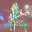 KEEP CALM porque amanha é  niver da Avril - Personalised Poster large