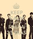 KEEP CALM PORQUE FALTA 35 DIAS - Personalised Poster large