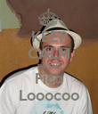 KEEP CALM porque Fico Looocoo - Personalised Poster large