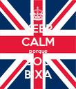 KEEP CALM porque SOU BIXA - Personalised Poster large