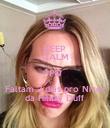 KEEP CALM PQ Faltam 2 dias pro Niver da Hilary Duff - Personalised Poster large