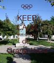 KEEP CALM que eu sou  de  Granja Nova - Personalised Poster large