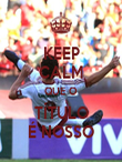 KEEP CALM QUE O TÍTULO É NOSSO - Personalised Poster large