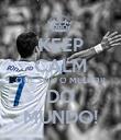 KEEP CALM QUE SOU O MELHOR DO MUNDO! - Personalised Poster small