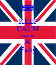 KEEP CALM Stephens  A  Fatty - Personalised Poster large