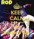 KEEP CALM Steven Rod no  Sorriso Bar - Personalised Poster large