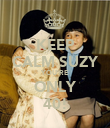 KEEP CALM SUZY YOU'RE ONLY 40! - Personalised Poster large