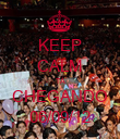 KEEP CALM TÁ CHEGANDO 06/09/12 - Personalised Poster large