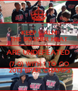 KEEP CALM THE BOSSIER HEAT ARE UNDEFEATED  (7-0) WITH 1 TO GO 2013 BPAR CHAMPS - Personalised Poster large