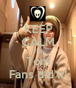KEEP CALM The Tom Fans did it! - Personalised Poster large