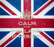 KEEP CALM TOM  HOLLAND  IS HERE!!!!!! - Personalised Poster large