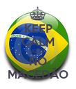 KEEP CALM VOTE  NO MACEDÃO - Personalised Poster large