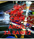 KEEP CALM W ARGEL 3A RAWE2 - Personalised Poster large