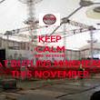 KEEP CALM WWE WEEKEND AT BUTLINS MINEHEAD THIS NOVEMBER - Personalised Poster large