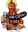 KEEP CALM Y HECHATE UNA CUBA - Personalised Poster large
