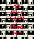 KEEP CALM Your Fired Jerk - Personalised Poster large