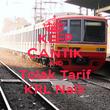 KEEP CANTIK AND Tolak Tarif KRL Naik - Personalised Poster large