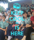 KEEP COOL 8B IS HERE - Personalised Poster large