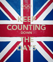 KEEP COUNTING DOWN THE DAYS - Personalised Poster large