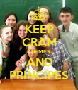 KEEP CRAM THEMES AND PRINCIPES - Personalised Poster large