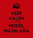 KEEP KALEM STOCK MODEL MASIH ADA - Personalised Poster small