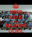 KEEP KECE AND NAMCHE GOKIL - Personalised Poster small