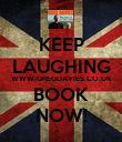KEEP LAUGHING WWW.GREGDAVIES.CO.UK BOOK NOW! - Personalised Poster large
