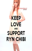 KEEP LOVE AND SUPPORT RYN CHIBI - Personalised Poster large