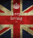 keep loving 26   - Personalised Large Wall Decal