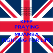 KEEP PRAYING FOR MUAMBA FIGHTING FOR LIFE - Personalised Poster large