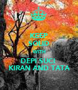 KEEP SOLID WITH DEPI SUCI  KIRAN AND TATA - Personalised Poster large