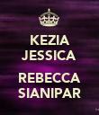 KEZIA JESSICA  REBECCA SIANIPAR - Personalised Poster large