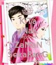 KiTa aNaK MUSLiM ZaMaN SekaRanG - Personalised Poster large