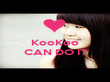 KooKoo  CAN DO IT  - Personalised Poster large