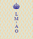 L M F A O - Personalised Poster large