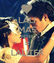 LALI MAS PETER = LALITER - Personalised Large Wall Decal