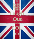 Laugh Out Loud LOL xx - Personalised Poster large