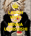 LAUGH WITH ME MINNA USHISHISHI - Personalised Poster large