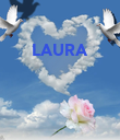 LAURA     - Personalised Poster large