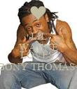 LIL WAYNE SAYS HE LOVES  EBONY THOMAS<3 - Personalised Poster large
