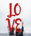 LO VE - Personalised Poster large