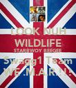 LOOK NUH WILDLIFE STARBWOY BEEGEE Swagg1 Team WE .M.A.R.!!! - Personalised Poster large