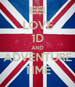 LOVE 1D AND ADVENTURE TIME - Personalised Poster large