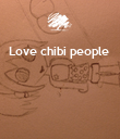 Love chibi people      - Personalised Poster large