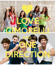 LOVE CIMORELLI AND  ONE DIRECTION - Personalised Poster large