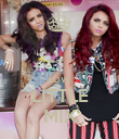 LOVE LITTLE MIX - Personalised Poster large