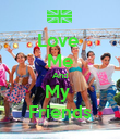 Love  Me And My  Friends - Personalised Poster large